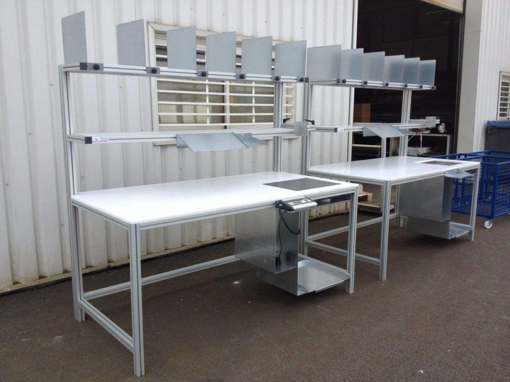 Poste de conditionnement et de préparation de commande_SEPEM industries_METALINOX