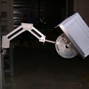 Bras extensible pour repose bacs - Mobilier & Aménagement industriel - METALINOX 1