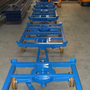 Chariot monotrace - Mobilier & Aménagement industriel - METALINOX