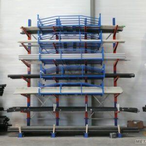 Civière de stockage pour profils long - Mobilier & Aménagement industriel - METALINOX 1