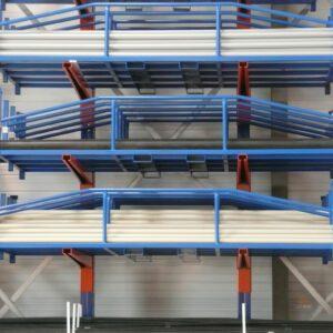 Civière de stockage pour profils long - Mobilier & Aménagement industriel - METALINOX 2