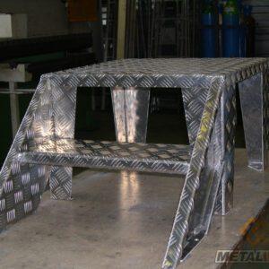 Marche-pied - Mobilier & Aménagement industriel - METALINOX