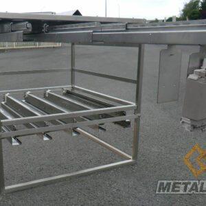 Meuble à bras coulissant - Fabrication spécifique - METALINOX
