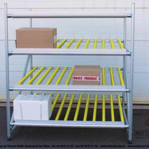 Meuble-de-convoyage-4-niveaux-pour-picking-Statique-LeanConcept-1-METALINOX