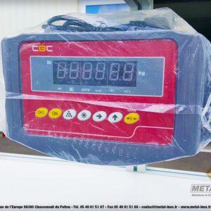 Poste d'emballage - Lean Concept - Balance + Séparateur cartons + Bras extensible + Tiroirs compartimentés 2 - METALINOX