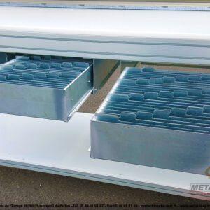 Poste d'emballage - Lean Concept - Balance + Séparateur cartons + Bras extensible + Tiroirs compartimentés 5 - METALINOX