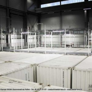 Projet Abiil - MJ LOGISTICS - Aménagement d'une plateforme de self-stockage - METALINOX (17)