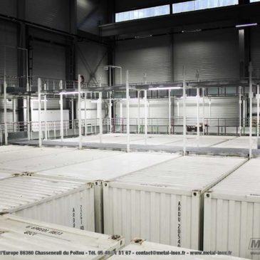 Un projet d'aménagement complet dans l'usine MJ LOGISTICS