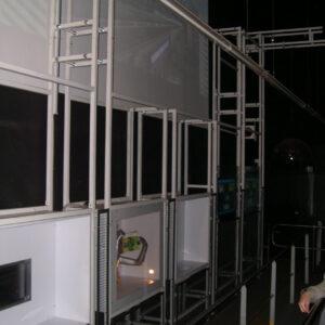 Structure Mécano-soudés de présentation - Développement spécifique - METALINOX