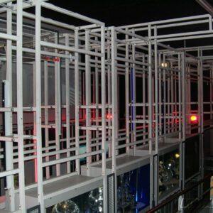 Structure Mécano-soudés de présentation - Développement spécifique - METALINOX 2