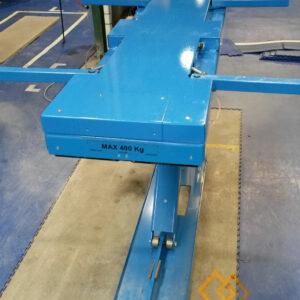 Table élévatrice à bras - Fabrication spécifique - METALINOX 1
