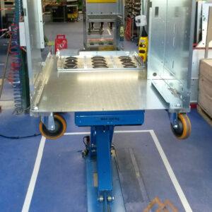 Table élévatrice à bras - Fabrication spécifique - METALINOX 2