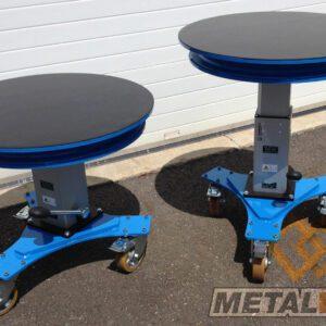 Table élévatrice rotative manuelle - Fabrication spécifique - METALINOX 1