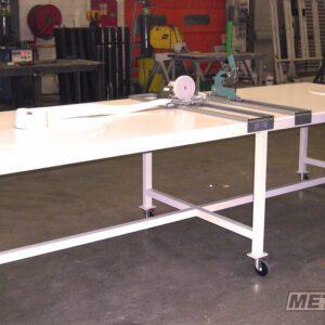 Table de découpe - Fabrication spécifique - METALINOX 1