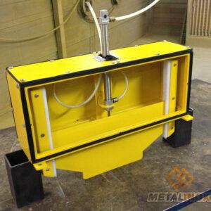 Trappe de recoupement d'air - Fabrication spécifique - METALINOX