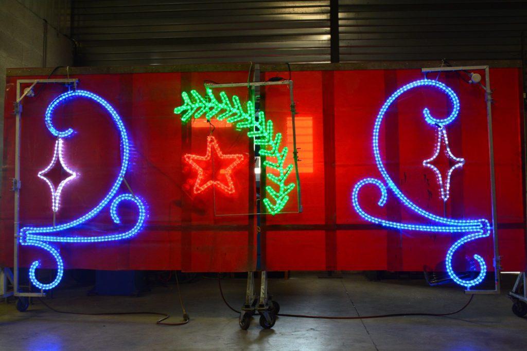 Decorations noel pour collectivites