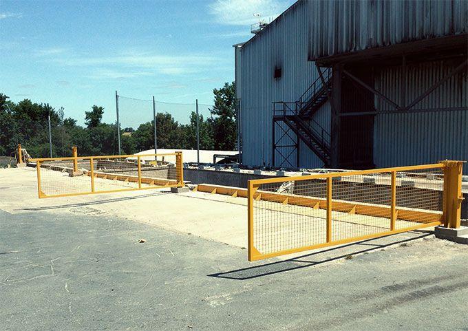 barrière de sécurité produit par galvanisation