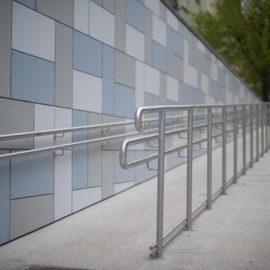 METALINOX - rampe d'accès pour personnes à mobilité réduite