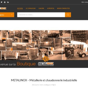 La boutique en ligne METALINOX arrive !