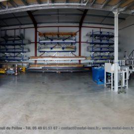 Panorama nouvel atelier METALINOX