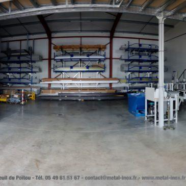 METALINOX vous présente son nouvel atelier aluminium !