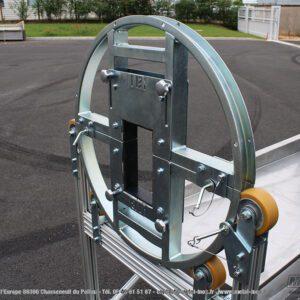 Retourneur de pièce 360° avec bac de rétention LEAN CONCEPT METALINOX